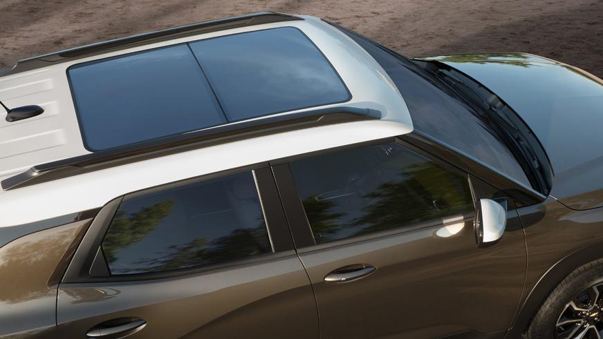 Новый Chevrolet Trailblazer крупнее Trax и стоит меньше