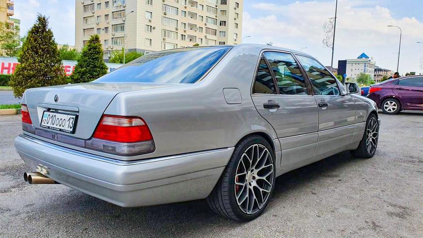 Cамые дорогие Mercedes-Benz S-Class (W140) на kolesa.kz