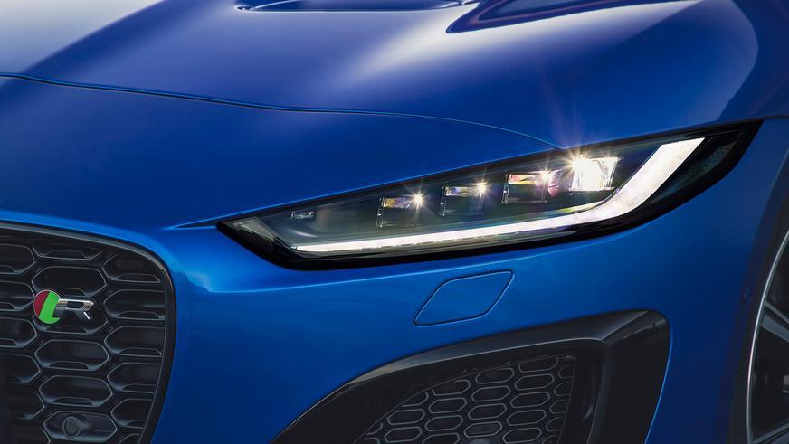 Jaguar обновил F-type