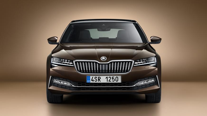 В Казахстане стартовала сборка обновлённого Škoda Superb