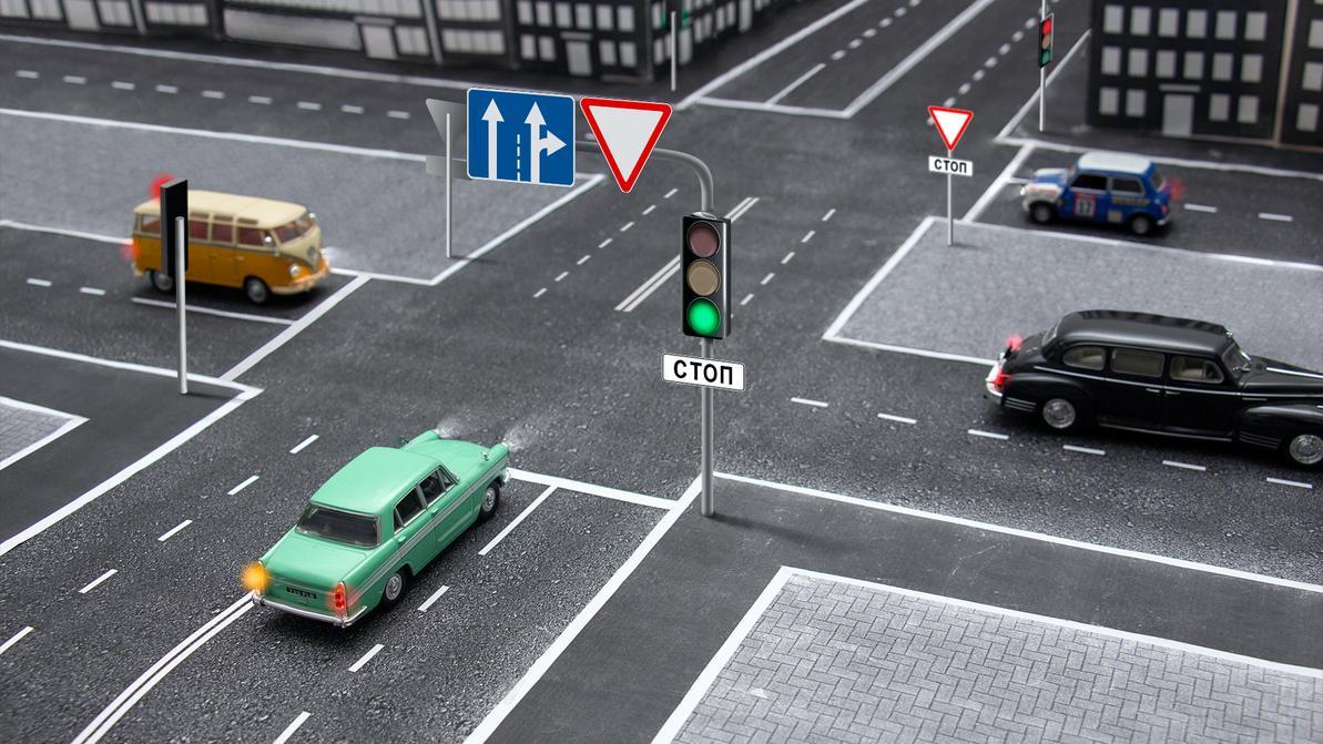 Школа Kolesa.kz: Проезд перекрёстка