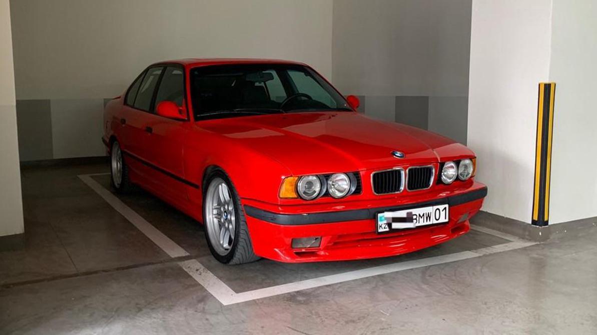 Самые дорогие BMW пятой серии (E34) на kolesa.kz