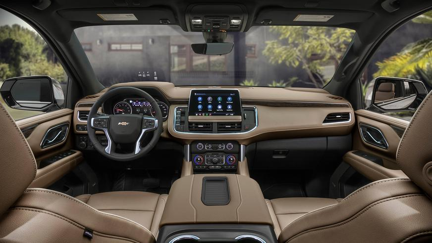 Chevrolet представил новые Suburban и Tahoe