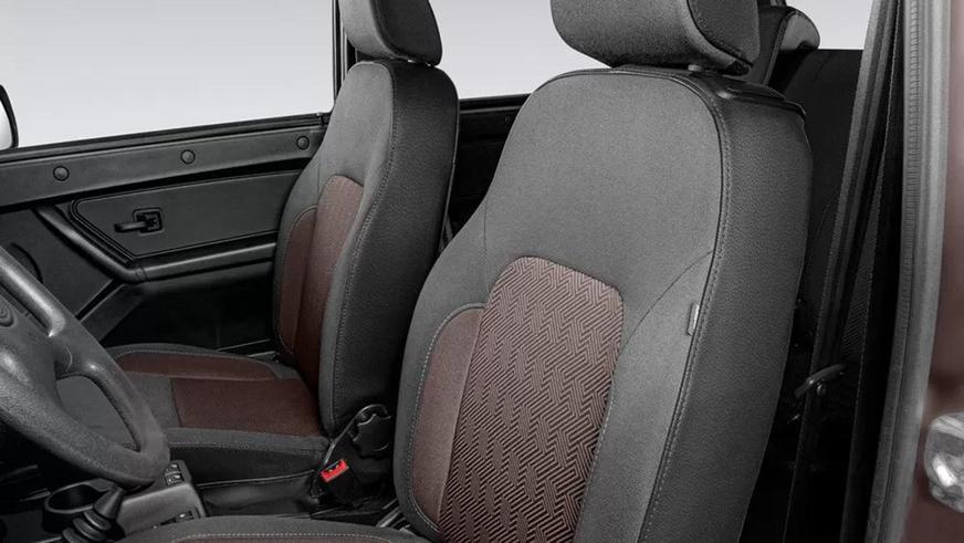 В Lada 4x4 появилась подушка безопасности… одна, боковая
