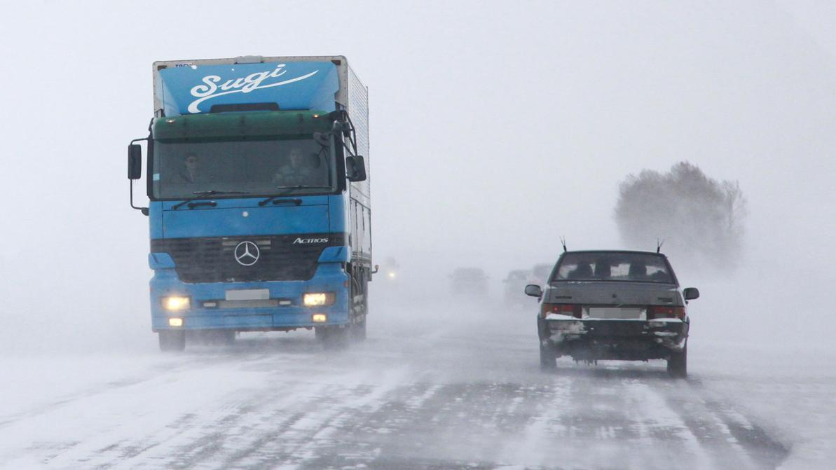 Дороги закрыты из-за погодных условий