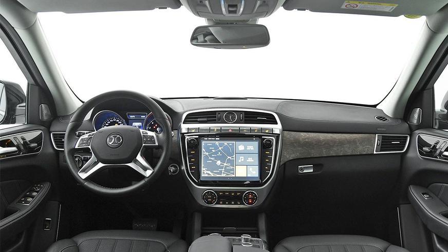 Китайская копия Mercedes-Benz GL оказалась дороже нового GLS