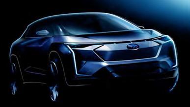 Subaru готовит электромобиль. Вот как он будет выглядеть