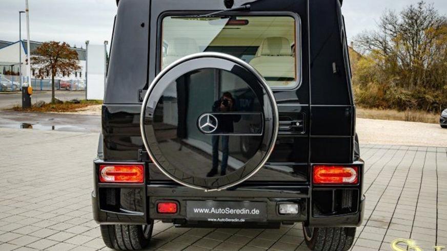Возможно, самый роскошный «гелендваген» без приставки Maybach в названии