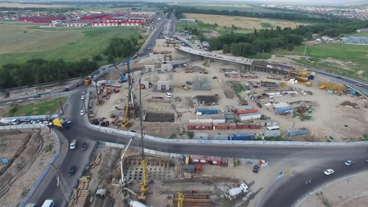 Развязку на Кульджинке в Алматы хотят сдать раньше срока