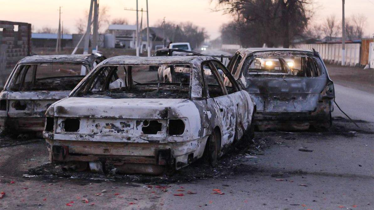 Массовые беспорядки в Кордайском районе начались из-за дорожного конфликта
