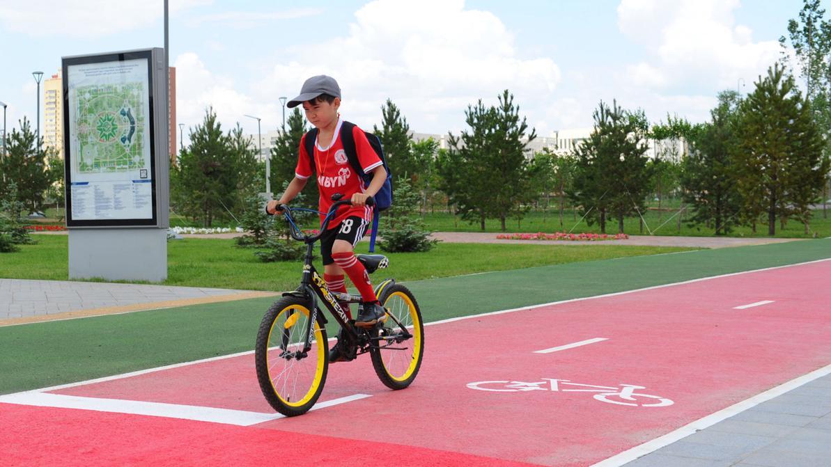 130 километров новых велодорожек появится в Нур-Султане