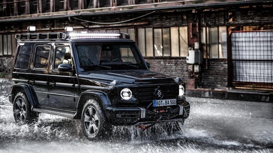 У Brabus появились бронированные Mercedes-Benz G-Class