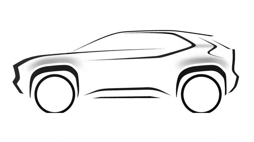Toyota покажет в Женеве свой самый маленький кроссовер