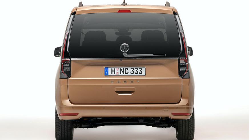 Volkswagen Caddy разделил модульную платформу с Golf