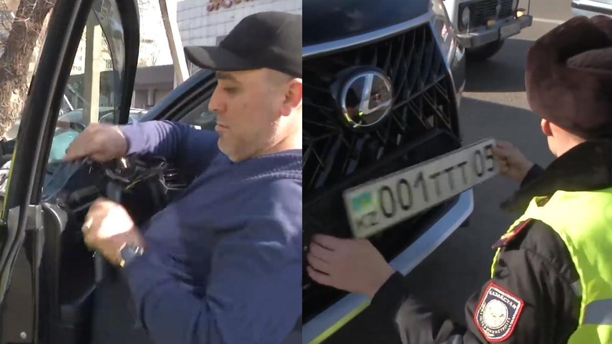 182 машины растонировали полицейские в Талдыкоргане с начала года. Всех ли наказали законно?