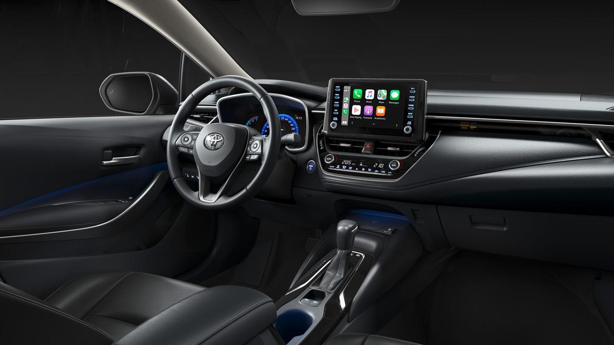 Toyota Corolla получила Android Auto и Apple CarPlay в Казахстане