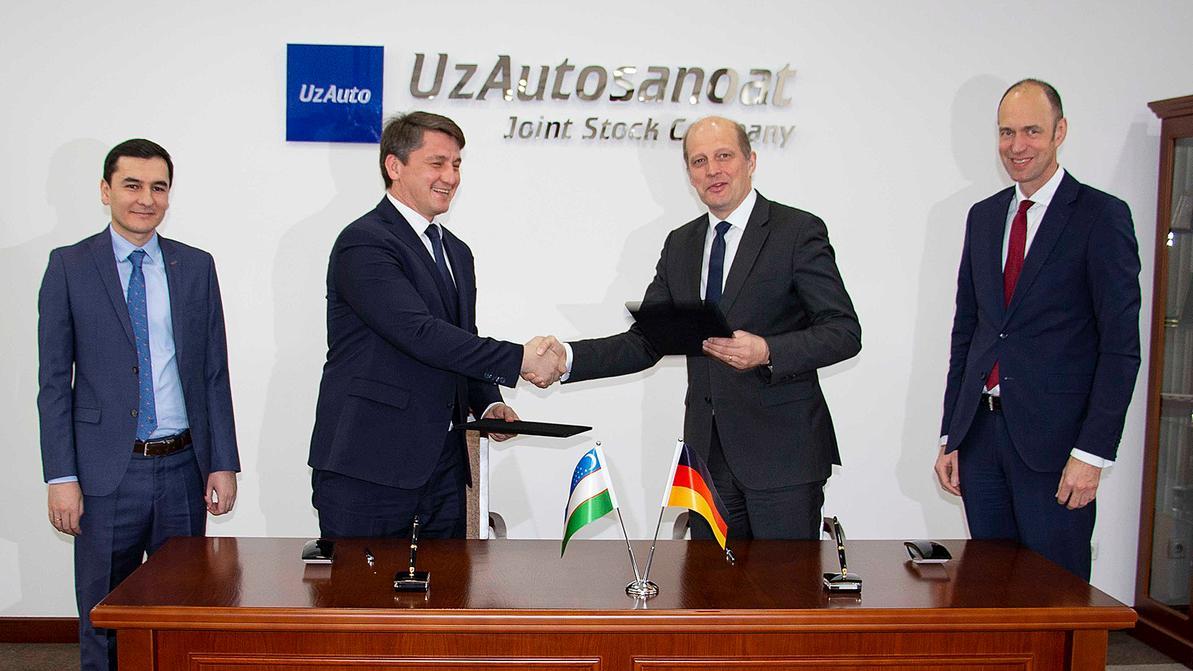 Volkswagen будет делать Caddy в Узбекистане