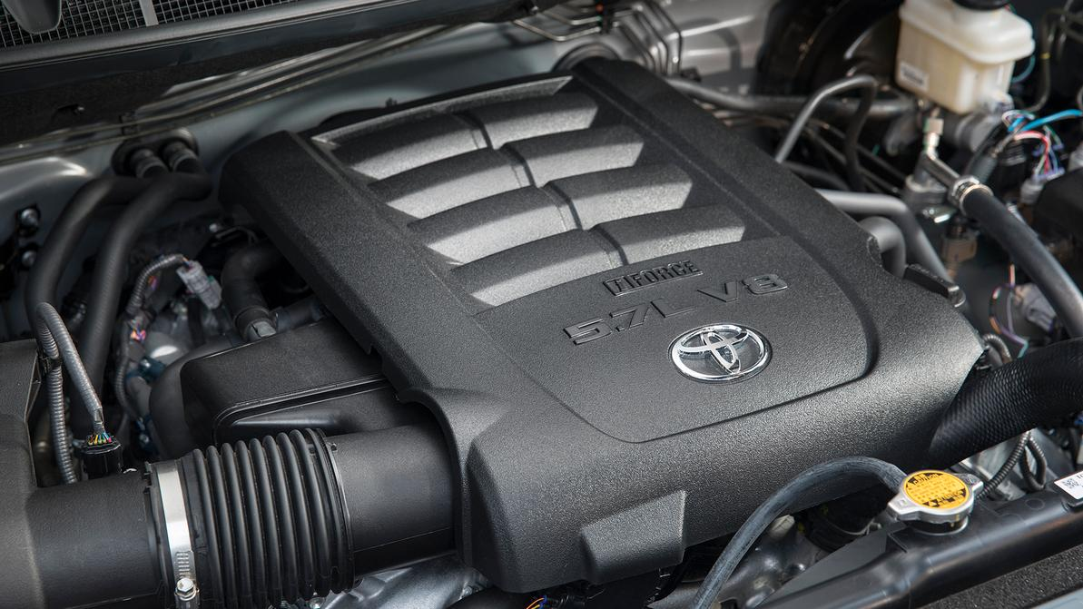 Toyota готовит новый V8?