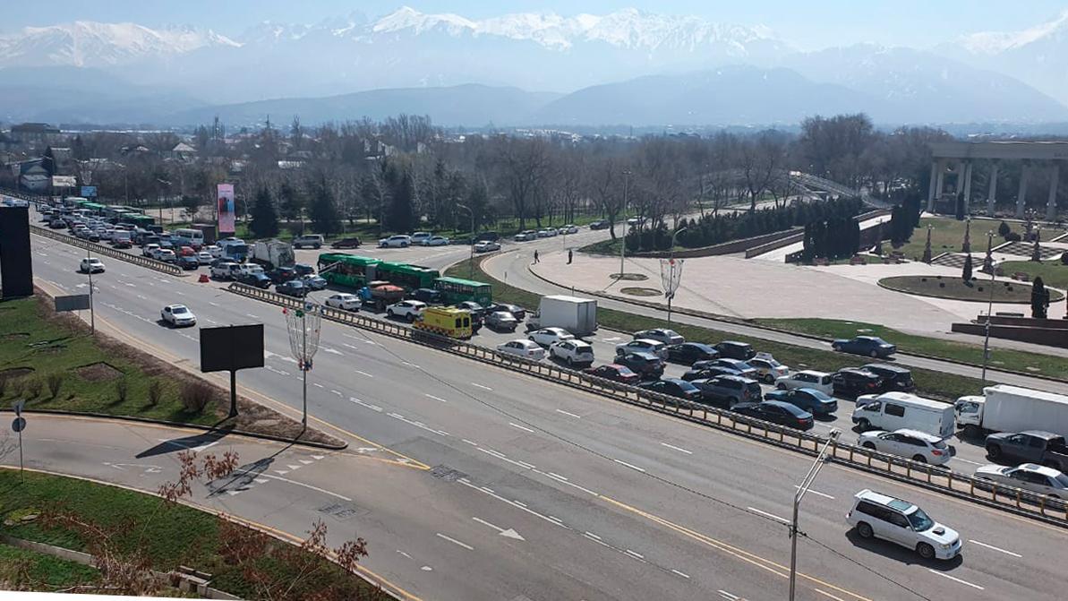 Посты внутри Алматы будут менять свои дислокации