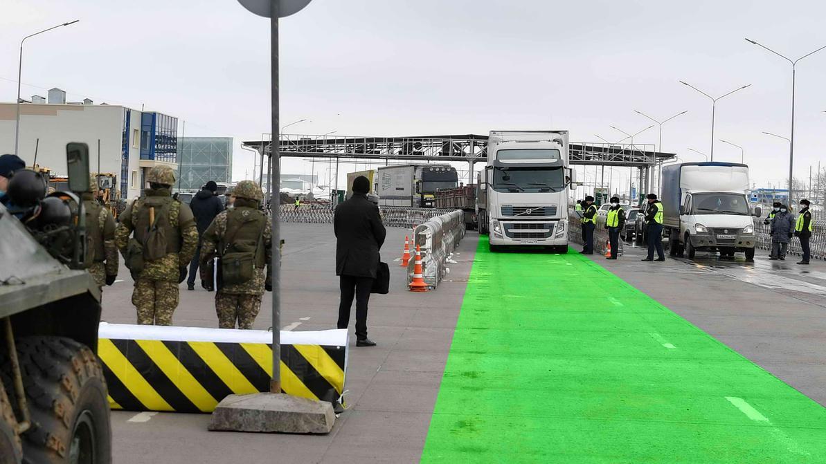 Как грузовикам попасть в Нур-Султан через зелёный коридор