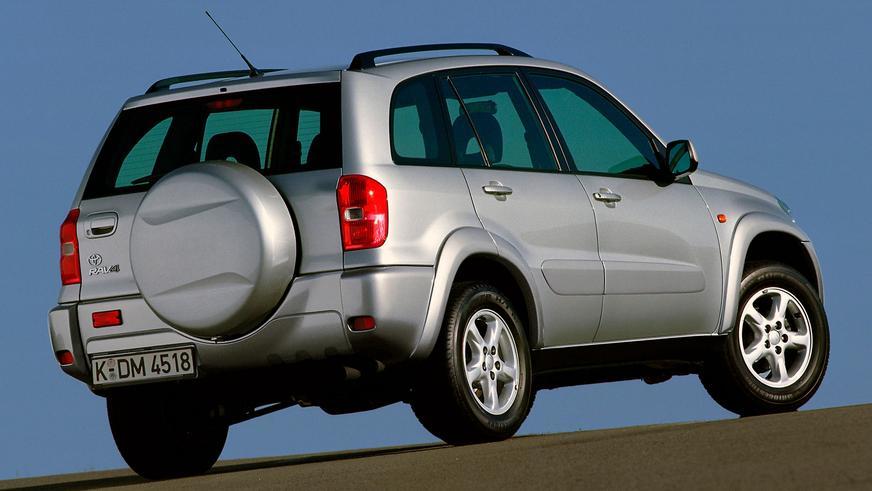 Продажи Toyota RAV4 перевалили за 10 млн единиц