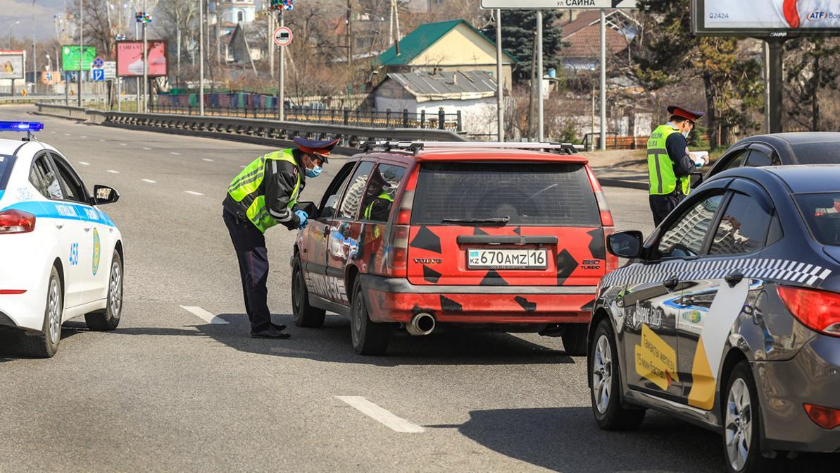 С 16 апреля прежние разрешения на передвижение по Алматы недействительны