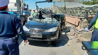 Полицейский разбился насмерть в Алматы