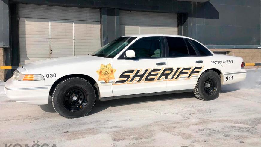 Столичный Ford Crown Victoria в полицейской форме