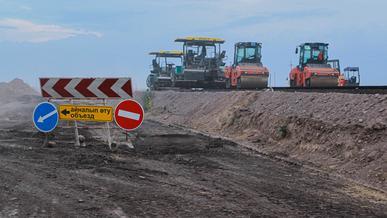 2 600 километров дорог откроют в Казахстане в 2020 году