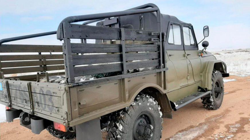УАЗ на шасси ГАЗ-66 выставили на продажу