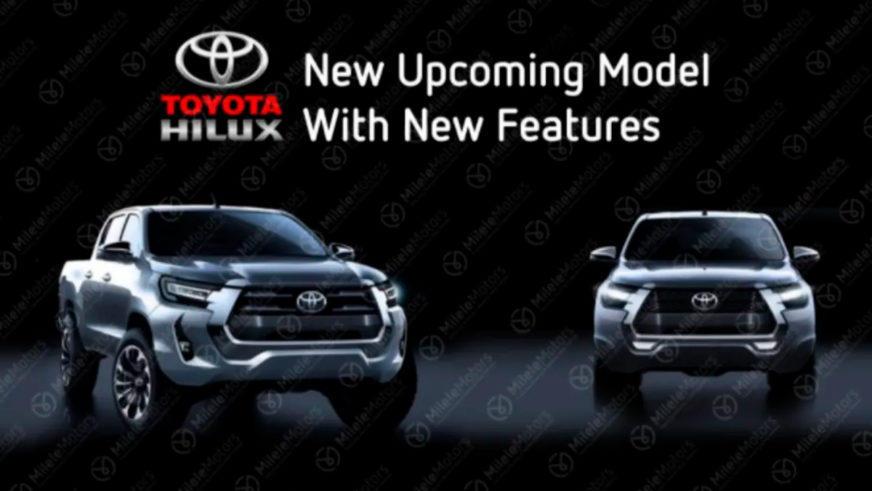 В Сеть утекли рендеры обновлённого Toyota Hilux