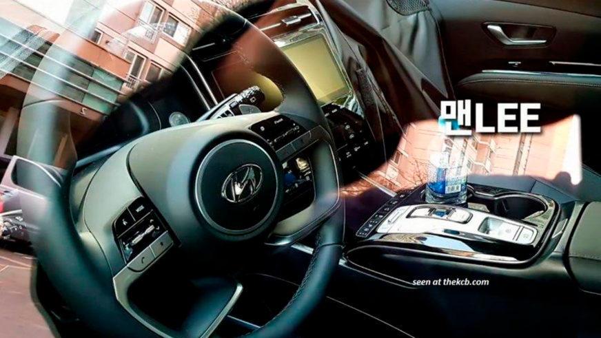 Салон нового поколения Hyundai Tucson