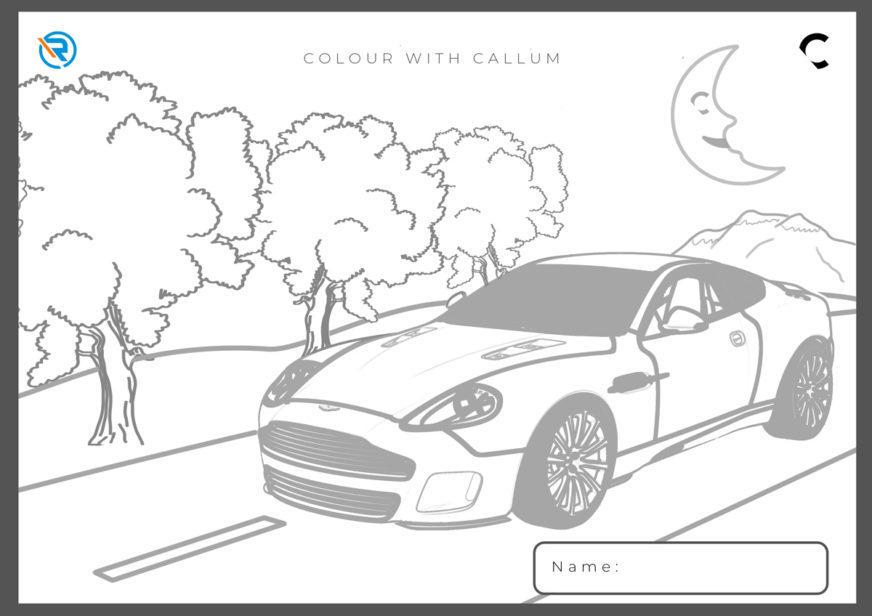 Раскраски от автопроизводителей и дизайнеров