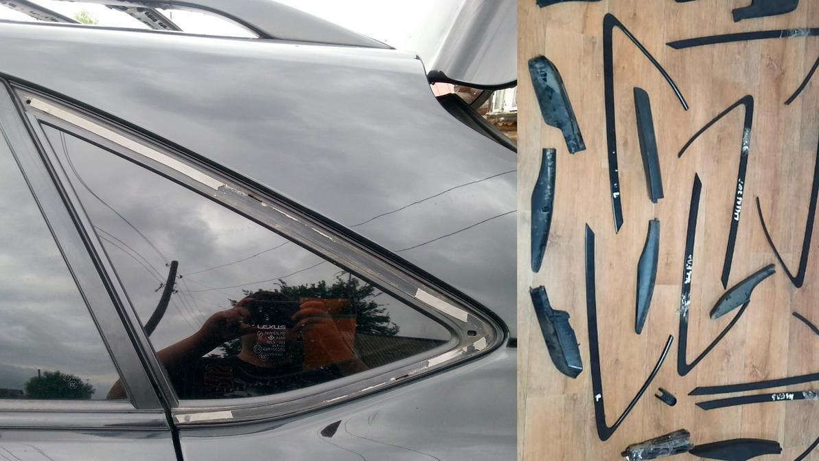 Воришек, снимавших молдинги с Lexus RX, задержали в Алматы