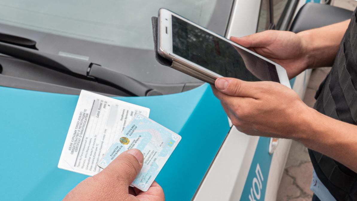 В будущем водителям в РК разрешат не иметь при себе права и техпаспорт