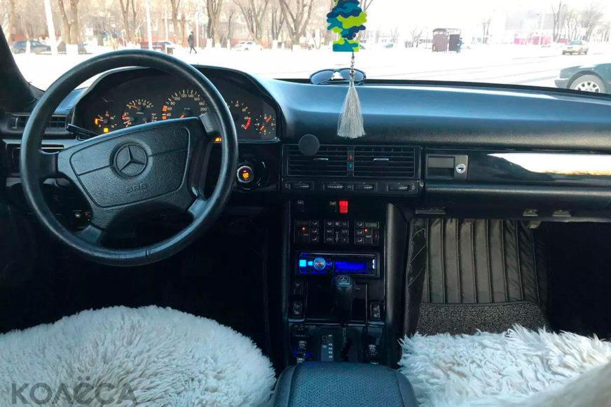 Седан Mercedes-Benz W126 превратили в купе