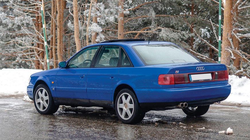Он вам не просто Audi C4