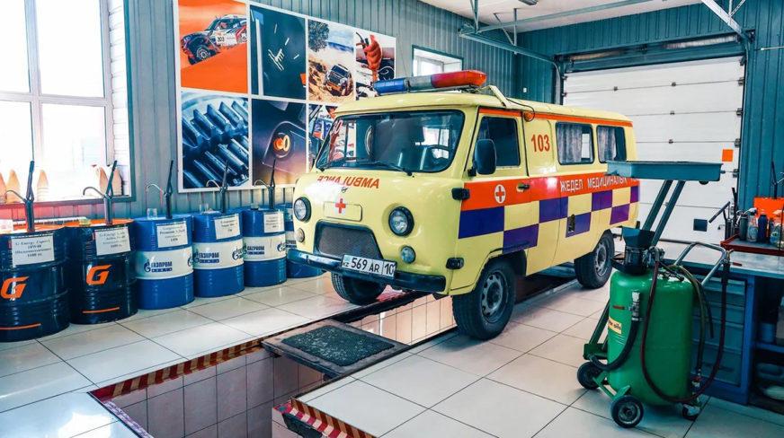 G-Energy Service проводит бесплатное сервисное обслуживание автомобилей скорой помощи в России и Казахстане
