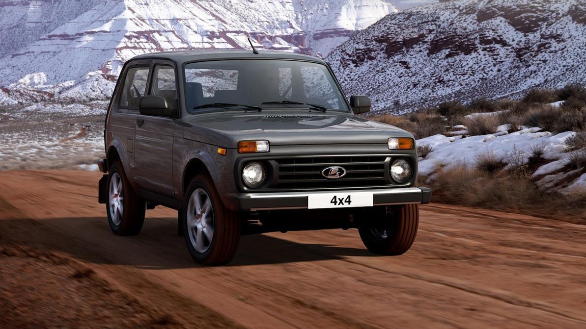 Дни Lada 4×4 в Европе сочтены