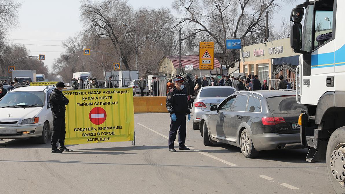 Возвращать блокпосты в Алматинской области не будут
