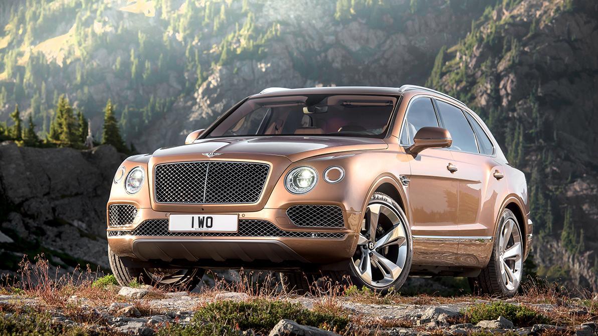 Bentley Bentayga отзывают из-за риска возгорания