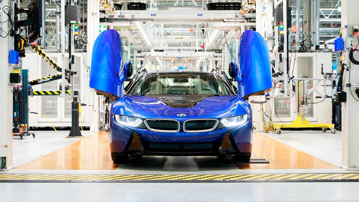 BMW i8 стал достоянием истории