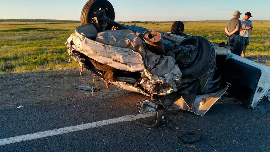 Три человека погибли в ДТП на трассе Актобе – Мартук – граница РФ