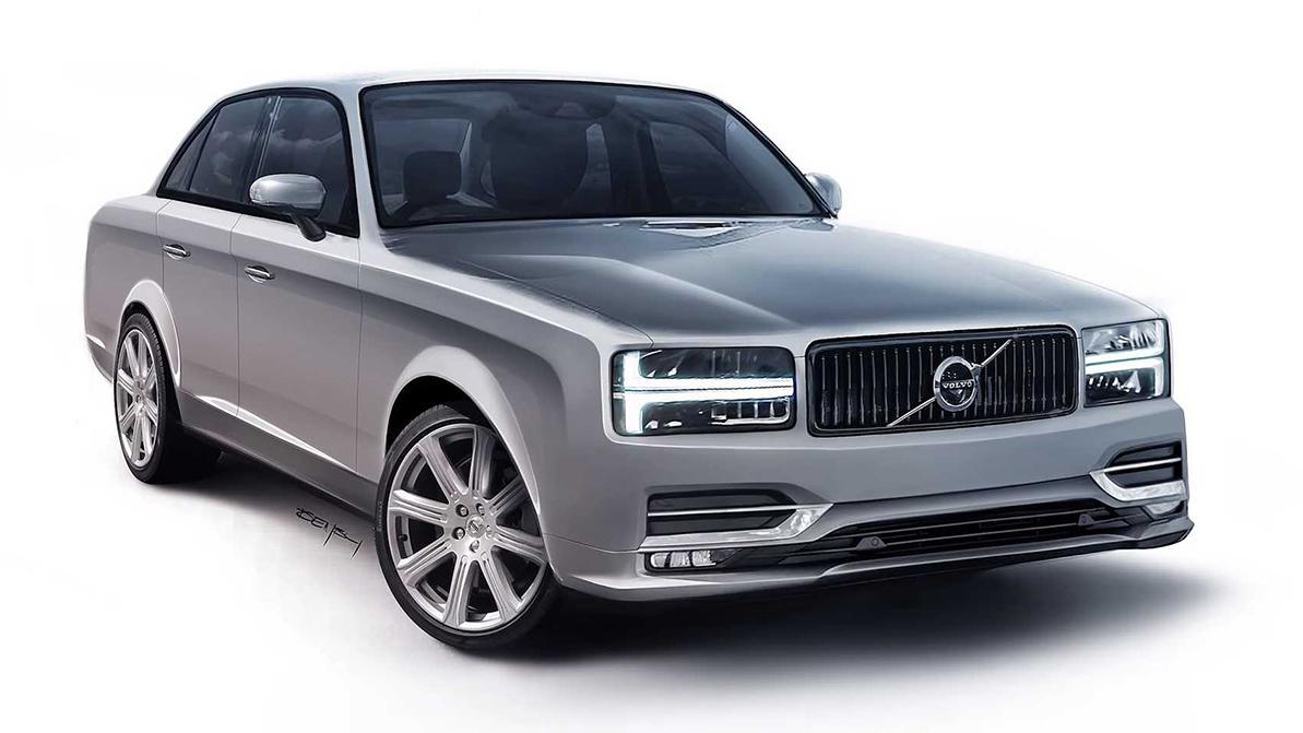 Как бы выглядел современный Volvo 240?