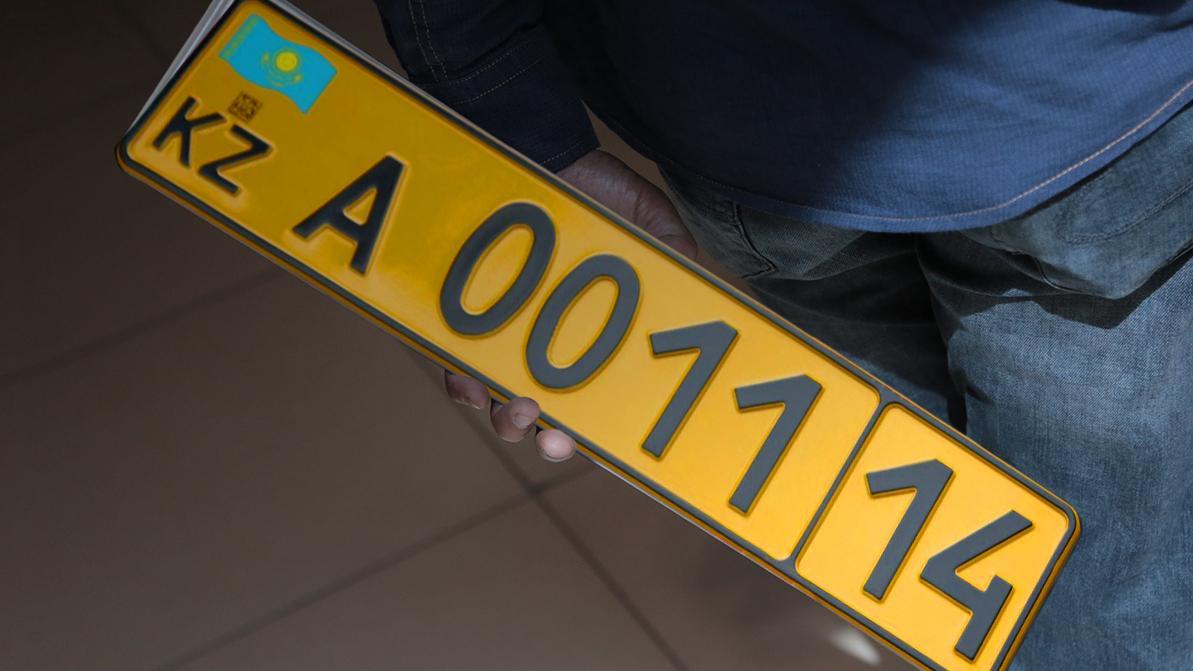 Сколько авто из Армении встали на жёлтые номера в Казахстане