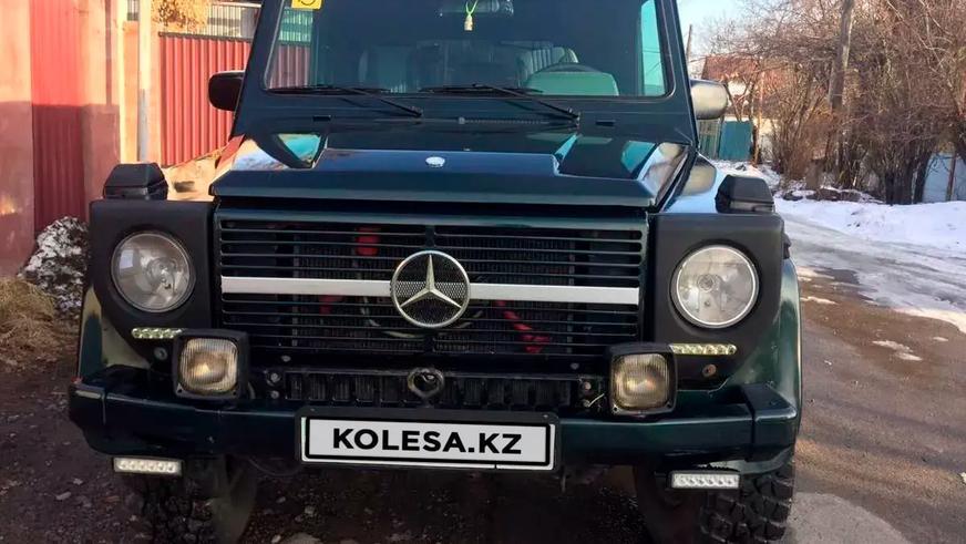 Пятёрка самых доступных «гелендвагенов» в продаже на Kolesa.kz