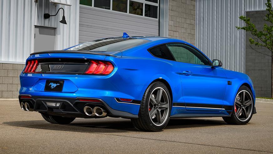 Возвращение Ford Mustang Mach 1