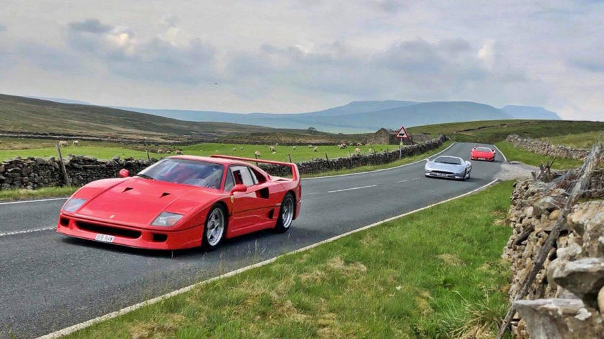 На съёмках Top Gear покалечили Lamborghini Diablo
