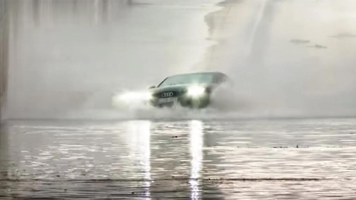 Quattro не работает в воде – как же так?!