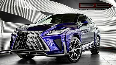 Тюнеры сделали необычный обвес для Lexus RX